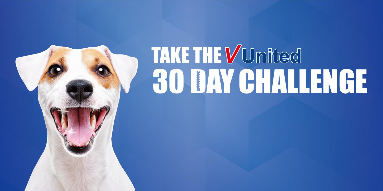 Take the V united 30 day challenge